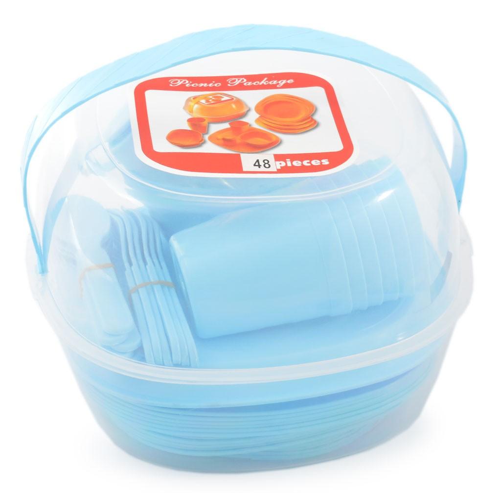 ce456160d6b Комплект за пикник от 48 части - Кухненски принадлежности - Дом и ...