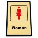 """ТАБЕЛКА - """"WOMAN / MAN"""""""