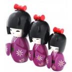 Комплект от 3 броя кукли гейши