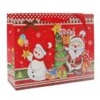 Подаръчна торбичка с Дядо Коледа