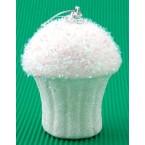 Коледна играчка за елха - мъфин