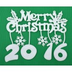 Комплект за декорация - Merry Christmas 2016