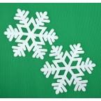 Комплект снежинки за декорация