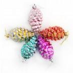 Комплект разноцветни шишарки