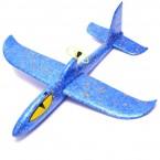 Стиропорен самолет с въртяща перка