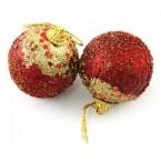 Коледни топки в преливащи цветове