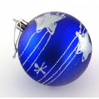 Коледни топки декорирани със звезди