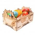 Дървена щайгичка - Великден