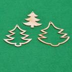 Комплект 6 бр елхички за украса