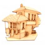 Дървени къщички