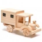 Дървен камион - кутия
