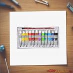 Водни бои за рисуване
