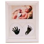Рамка за снимка на бебе с отпечатъци