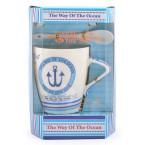 Чаша с морски мотиви