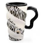 Чаша декорирана с животински шарки