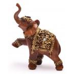 Фигурка на слон с вдигнат крак