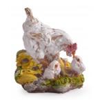 Фигура на кокошка с пилета