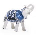 Фигурка - слон със седло