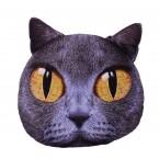 Възглавничка - коте с жълти очи