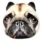 Възглавница - куче мопс