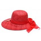 Дамска шапка с асиметрична периферия