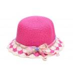 Малка шапка с панделка