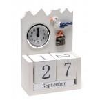 Вечен календар с часовник