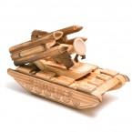 Дървен танк