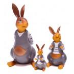 Фигурки на семейство зайци