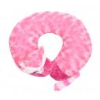 Възглавница за път - розов лемур