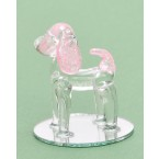 фигурка -  кученце с розови уши