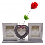 Рамки за снимки за свети валентин и ваза