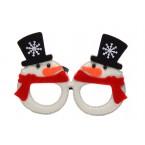 Коледни очила - снежни човечета