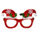 Парти очила - коледни шапки