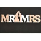 Табела за младоженци Mr & Mrs