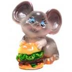 Фигурка на мишка с храна