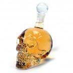 Стъклена бутилка - череп