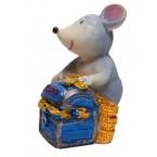 Мини касичка - мишка с монети