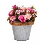 Изкуствено цвете в кофичка