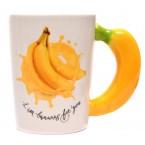 Керамична чаша - банан