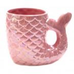 Керамична чаша - русалка
