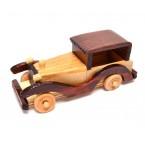 Дървен ретро автомобил