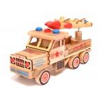 Дървен военен камион