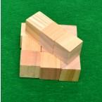 Дървени кубчета 12 бр