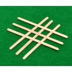 Пакет дървени бъркалки 100 бр
