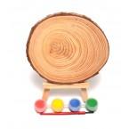 Дървен резен за рисуване