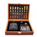 Подаръчен комплект шах с манерка