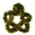 Гирлянд за елха - зелен с жълто