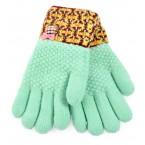 Детски ръкавици с цветен маншет