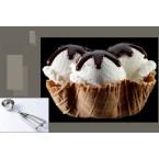 Лъжица за сладолед - диаметър 5 см